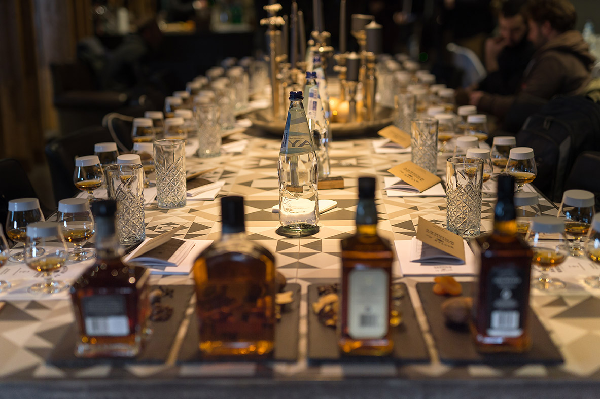 workshop jack daniels tasting