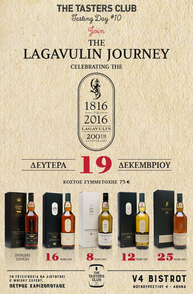 whisky tasting lagavulin the tasters club ουισκι