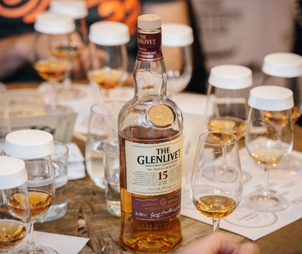 glenlivet whisky tasting