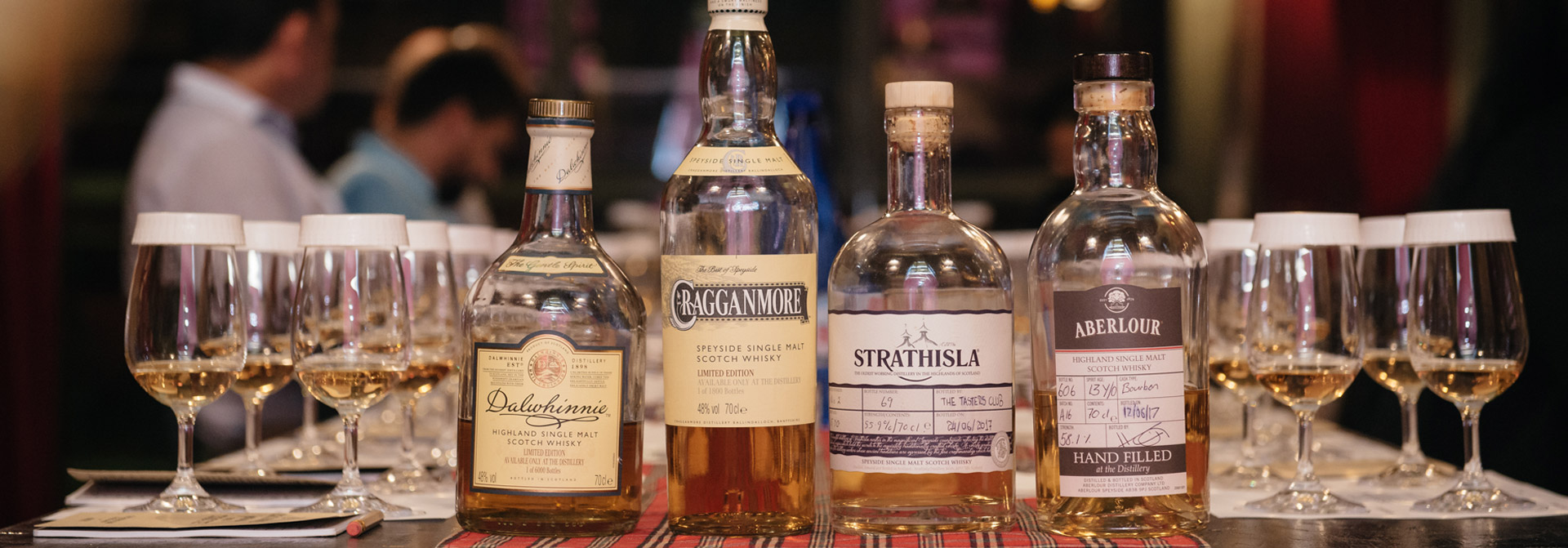 tasters club whisky tasting day-16-noel dalwhinnie cragganmore strathisla aberlour