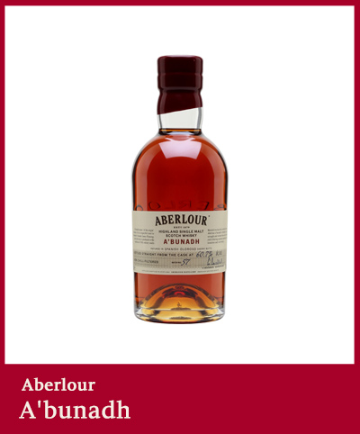 A'bunadh aberlour whisky single malt