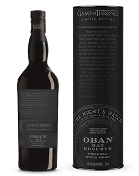 game of thrones oban whisky