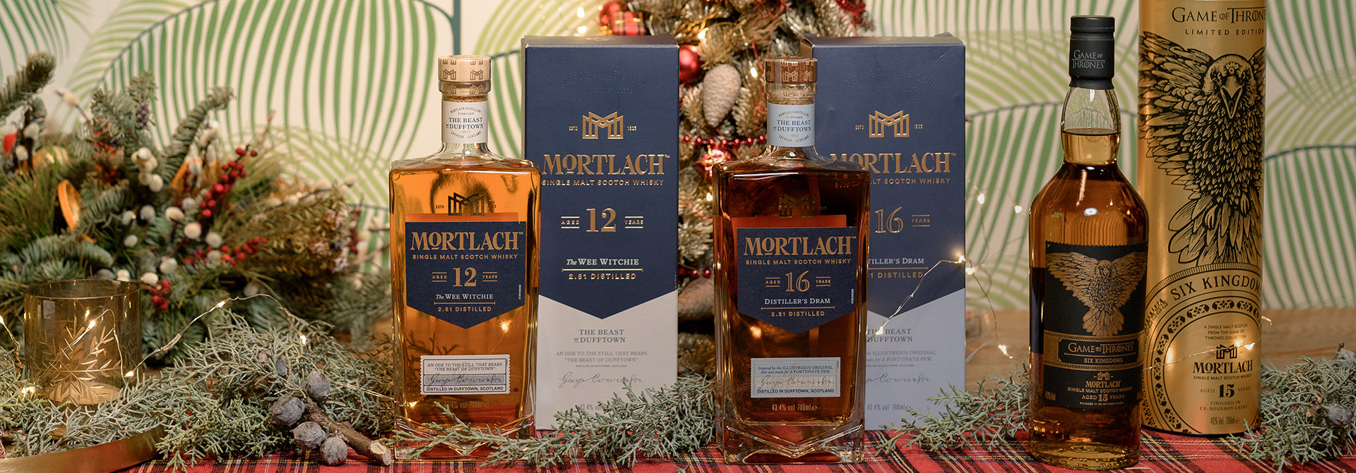 mortlach xmas whisky dinner the tasters club Mortlach 12 yo The Wee Witchie Mortlach 16 yo Distiller's Dram Mortlach 15 yo Six Kingdoms