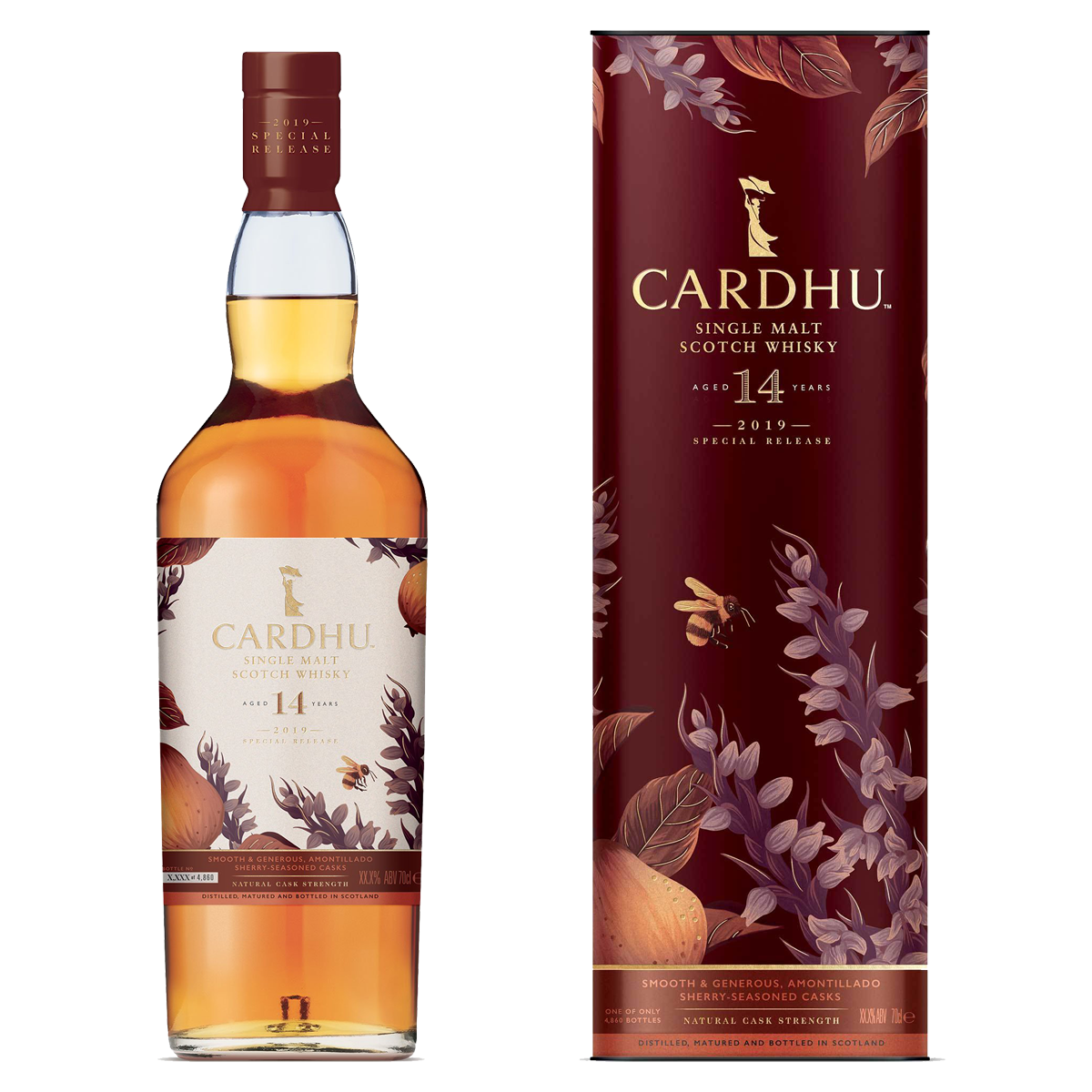 Rare By Nature whisky collection special releases 2019 CARDHU 14