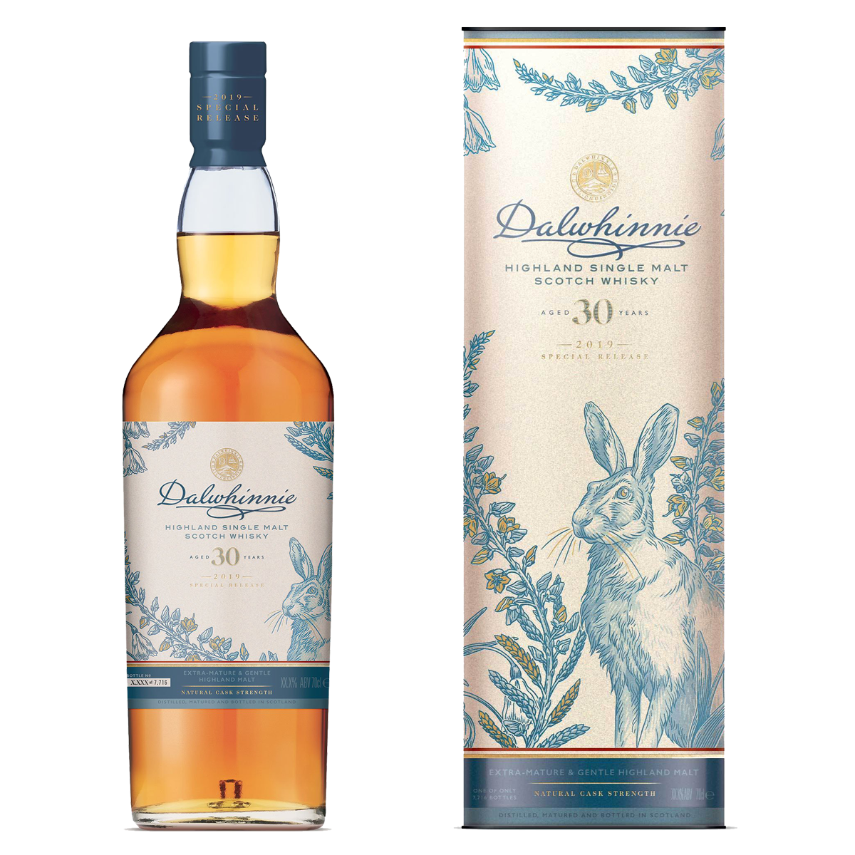 Rare By Nature whisky collection special releases 2019 DALWHINNIE 30