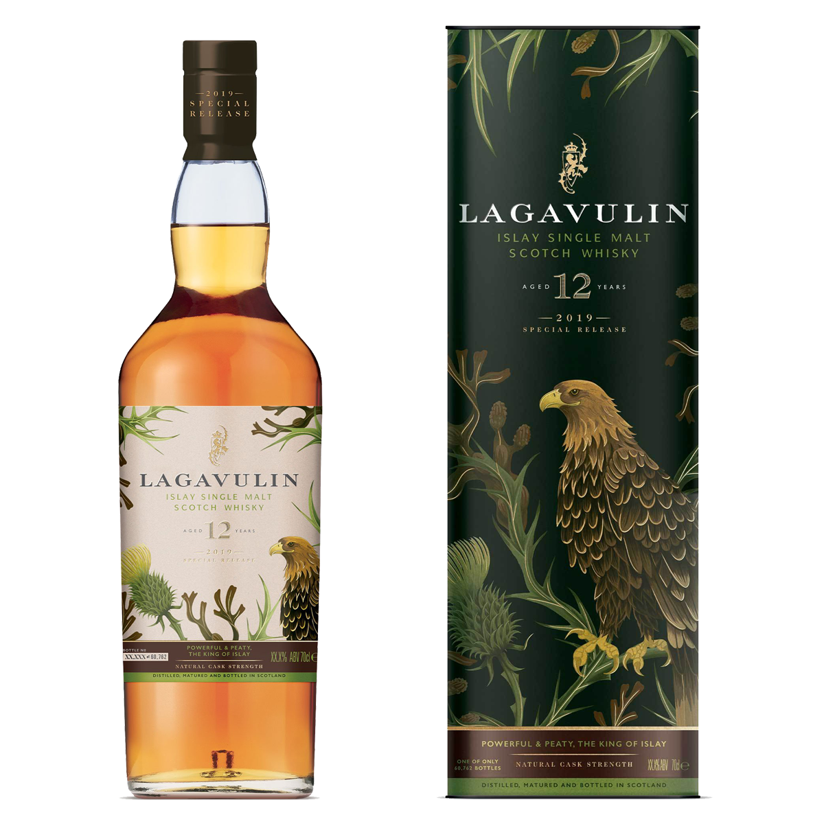 Rare By Nature whisky collection special releases 2019 LAGAVULIN 12
