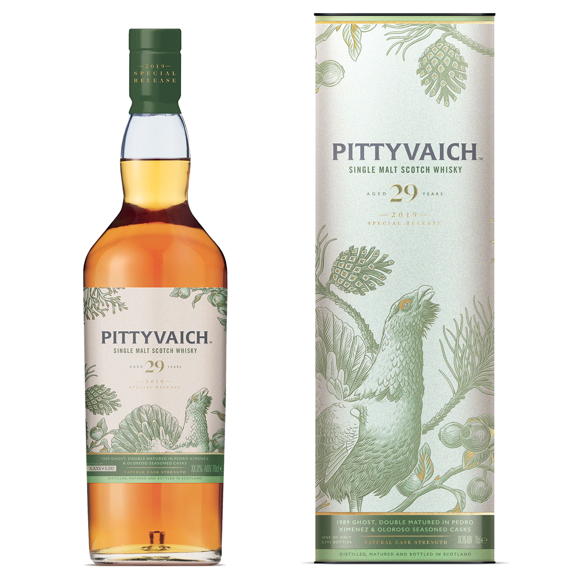 Rare By Nature whisky collection special releases 2019 PITTYVAICH 29