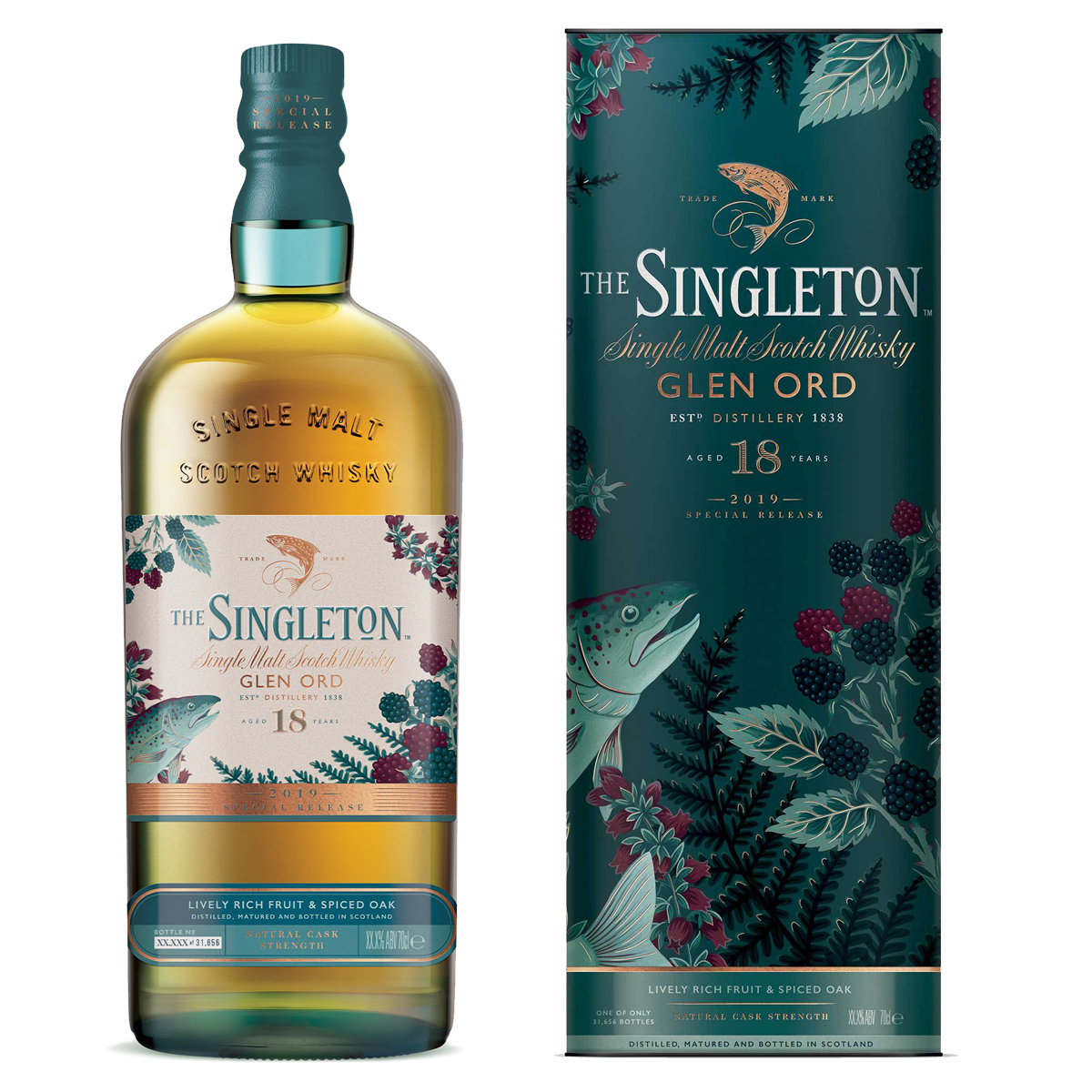 Rare By Nature whisky collection special releases 2019 SINGLETON of Glen Ord 18