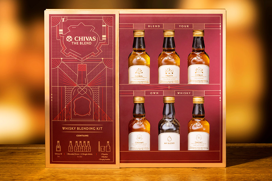 chivas the blend home edition by the tasters club with chivas blending kit
