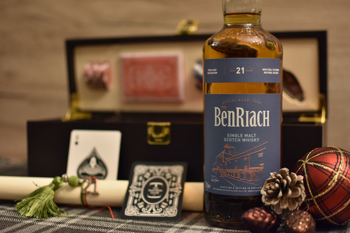 The Tasters Club Tasting Day #45 21 years old whisky tasting BenRiach 21