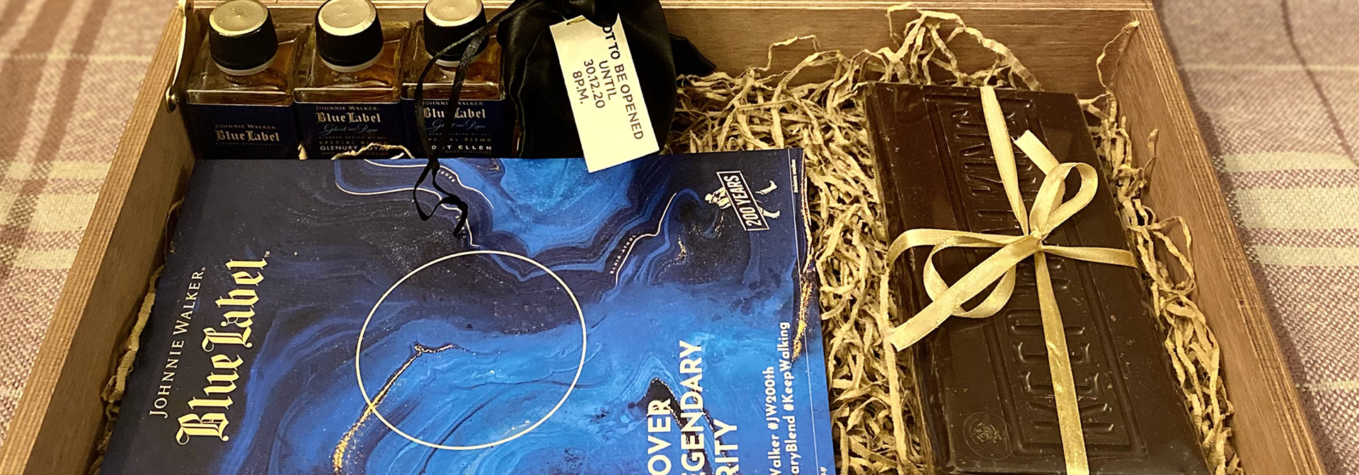 The Tasters Club Johnnie Walker 200 years Blue Label whisky tasting