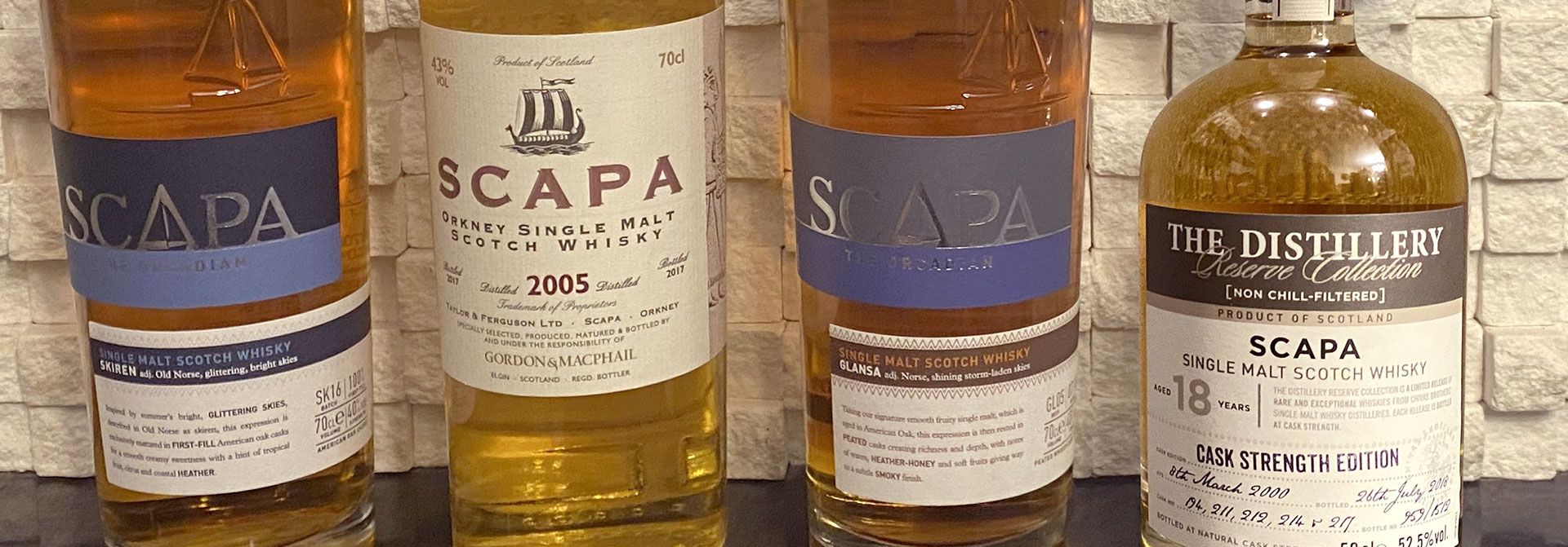 The Tasters Club Tasting Day 42 Scapa whisky tasting