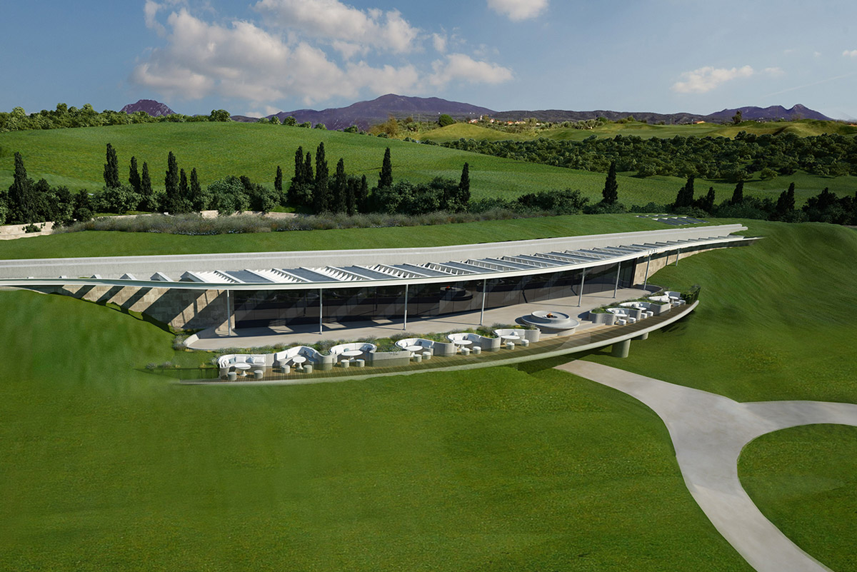 THE BAY COURSE CLUBHOUSE