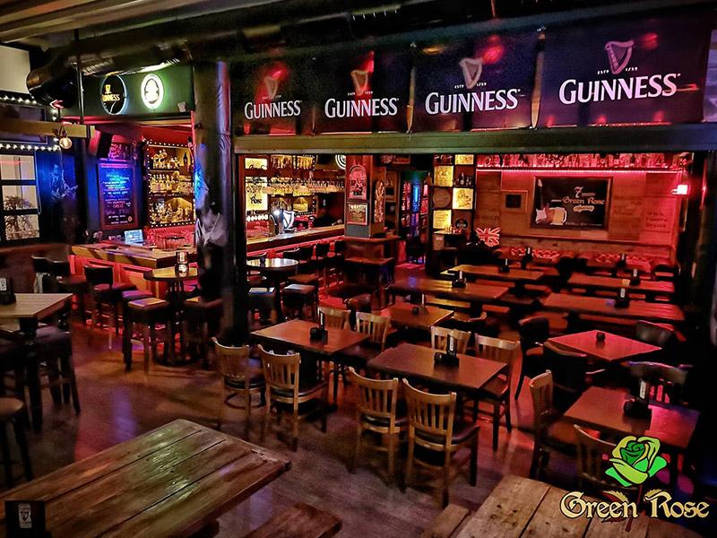green rose pub